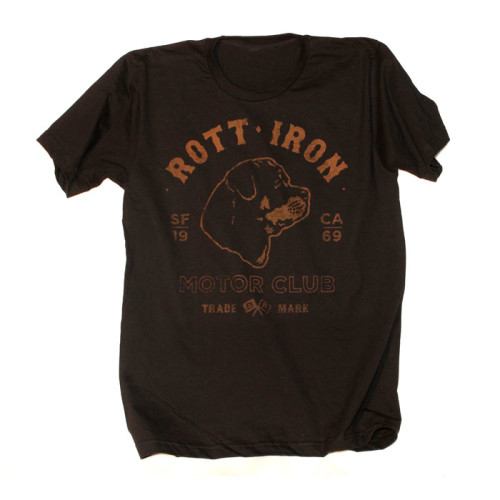 Rott Iron Motor Club tee by Breed Fanatic