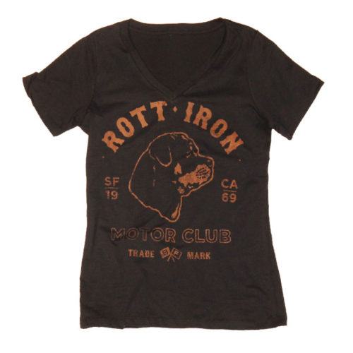 Rott Iron (Rottweiler) Motor Club tee by Breed Fanatic