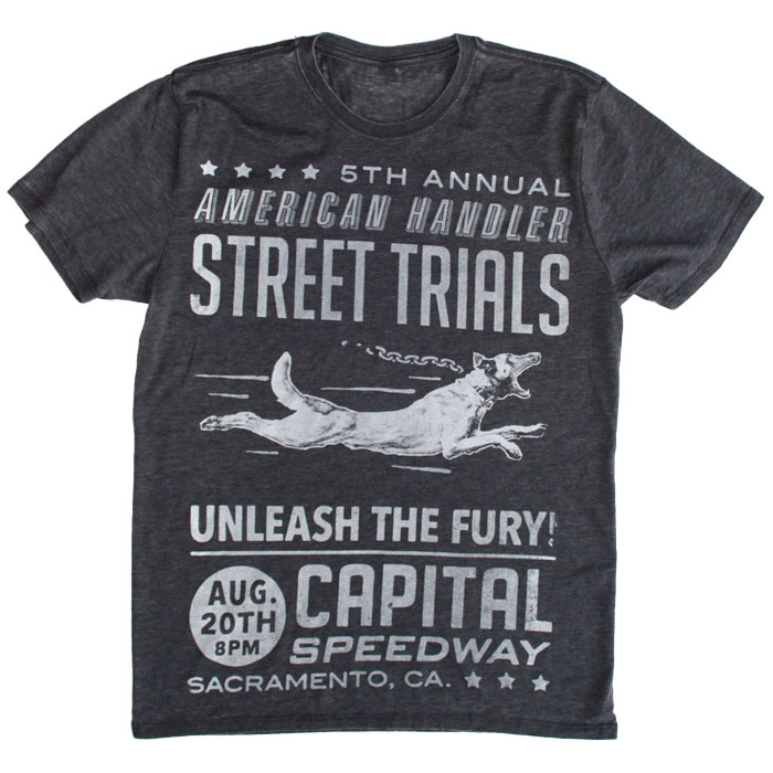 Flying Belgian Malinois Street Trial Tee by American Handler