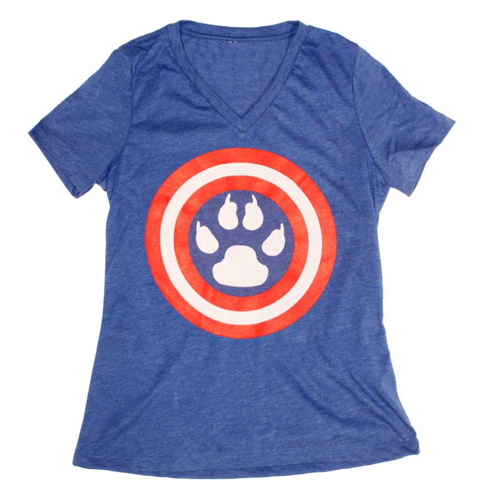 American-Dog-V Neck by American Handler